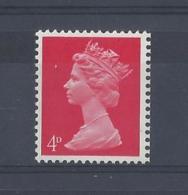 "GB..QUEEN ELIZABETH II.(1952-NOW)..."" MACHINS.."".......4d....SG734.....MNH.. - 1952-.... (Elizabeth II)"