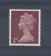 "GB..QUEEN ELIZABETH II.(1952-NOW)..."" MACHINS.."".......2d....SG726.....MNH.. - 1952-.... (Elizabeth II)"