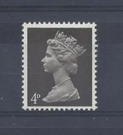 "GB..QUEEN ELIZABETH II.(1952-NOW)..."" MACHINS.."".......4d....SG731.....MNH.. - 1952-.... (Elizabeth II)"