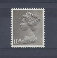 "GB..QUEEN ELIZABETH II.(1952-NOW)..."" MACHINS.."".......10d....SG741.....MNH.. - 1952-.... (Elizabeth II)"