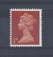 "GB..QUEEN ELIZABETH II.(1952-NOW)..."" MACHINS.."".......HALFd....SG723.....MNH.. - 1952-.... (Elizabeth II)"