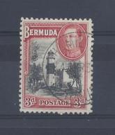 BERMUDA...KING GEORGE VI.(1936-52.)....3d....SG114.....CDS....VFU. - Bermuda