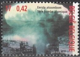 Belgique 2000 COB 2945 Neuf ** Cote (2016) 1.00 Euro Hiroshima Bombe Atomique - Belgio