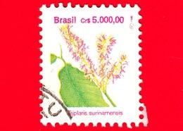 BRASILE - Usato - 1992 - Flora - Piante - Triplaris Surinamensis - 5000.00 - Brazilië