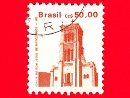 BRASILE - Usato - 1987 - Igreja Do Bom Jesus A Matozinhos - 50.00 - Gebruikt