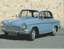 "AUTOMOBILE - SIMCA Arode P 60 "" Monaco "" 1960 - Passenger Cars"