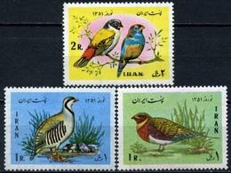 Iran 1972 / Birds MNH Vögel Aves Oiseaux Uccelli / C6922   1-61 - Pájaros