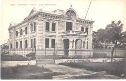 Tonkin - Hanoi - 1900-1910's - Loge Maçonnique - Viêt-Nam