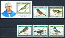 Cuba 1996 / Birds MNH Vögel Aves Oiseaux Uccelli / Cu5934  1-45 - Pájaros