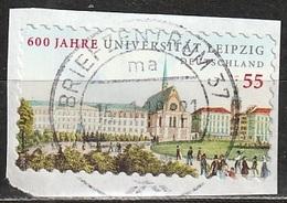 BRIEFZENTRUM 37 Ma - 16. 1 10 - 21 - Mi N. 2747 - UNIVERSITAT LEIPZIG - [7] Repubblica Federale