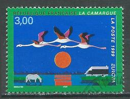 France YT N°3240 Europa 1999 Parcs Naturels Oblitéré ° - Gebraucht