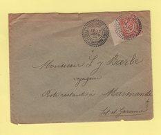 La Sauvetat De Saveres - Lot Et Garonne - 17 Janv 1904 - Type Mouchon - Postmark Collection (Covers)