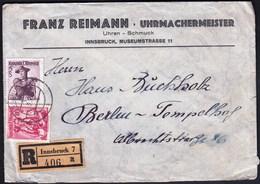 Austria Innsbruck 1953 / Franz Reimann Uhrmachermeister, Uhren - Schmuck / Watchmaker, Clockmaker, Jewellery - Jobs