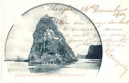 China - 1902 - Yangtsekiang Felseninsel Mit Buddhistenkloster - Chine