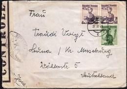 Austria Mayrhofen 1949 / French Zone / IKA Controle - 1945-60 Cartas