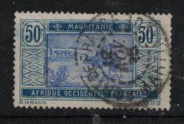 Mauritanie - Mauritania - Yvert 45 Oblitéré FORT-DE-FRANCE - Scott#39 - Mauritania (1906-1944)
