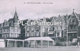 CPA   Trouville  Villas De La Plage - Trouville