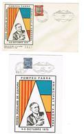ANDORRE FR 2 DOC. POMPEU FABRA 1975 Solo Enveloppe. 1 Document - Lettres & Documents