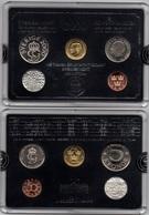 Sweden - Mint Set 4 Coins 50 Ore 1 5 10 Kronor 2000 UNC + Token BLACK Lemberg-Zp - Suède