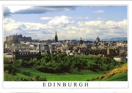 CPM - ECOSSE - EDIMBOURG - EDINBURGH - FROM THE QUEEN'S PARK TOST GILES' CATHEDRAL AND THE CASTLE - Midlothian/ Edinburgh