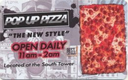 Plaza-Pop-Up-Pizza[1887]----key Card, Room Key, Schlusselkarte, Hotelkarte - Hotelkarten