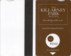 The Killarney Park Hotel 2532----key Card, Room Key, Schlusselkarte, Hotelkarte - Hotelkarten