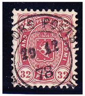 FINLANDE -- YVERT & TELLIER N° 20 -- 32p.  D11 -- OBLITERE-- - 1856-1917 Amministrazione Russa
