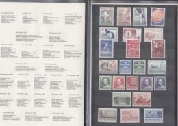 DÄNEMARK  Jahrbuch 1983, Postfrisch **, 767-783, 785-791 In Präsentationsfaltblatt - Nuovi
