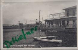 TÜRKEI  ISTANBUL (Konstantinopel), Prinzeninsel, Passagierfährhafen, Buyukada, Foto Um 1930 - Turquie