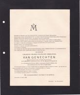 HERENTALS Charles Marie Emmanuel VAN GENECHTEN 1848-1930 - Obituary Notices