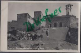 TÜRKEI: Ankara, Angora, Blick Hoch Zum Uhrturm, Clock Tower An Der Saat Kulesi, Foto Um 1930 - Turquie
