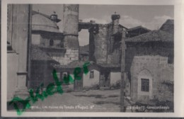 TÜRKEI: Ankara, Angora, Ruinen Des Augustustempels, Foto Um 1930 - Turquie