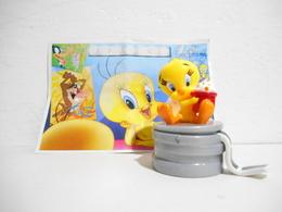 Kinder Looney Tunes Cinema 2002 Twetty + Bpz - Figuren