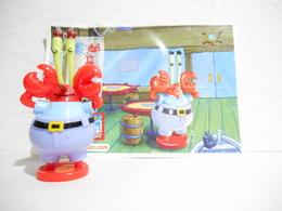 Kinder Spongebob S 202 + Bpz - Figuren