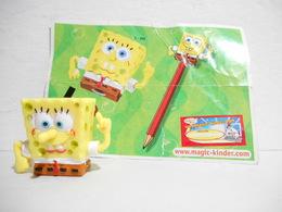 Kinder Spongebob S 208 + Bpz - Figuren