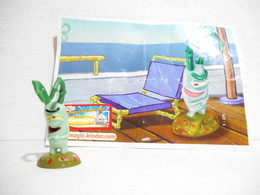 Kinder Spongebob S 205 + Bpz - Figuren