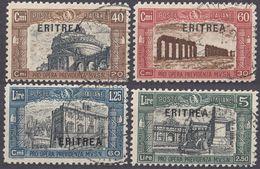 ERITREA - 1927 - Serie Completa Di 4 Valori Usati: Yvert 113/116. - Erythrée