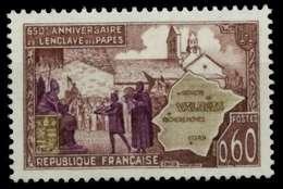 FRANKREICH 1968 Nr 1627 Postfrisch X88D07A - France