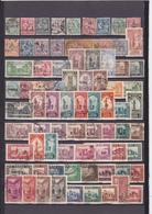 UN LOT DE 304 TIMBRES OBLITERES + 2 VIGNETTES DEPUIS 1891 JUSQU'A 1956 ET APRES LA FIN DU PROTECTORAT - Marokko (1891-1956)
