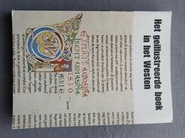Koninklijke Bibliotheek Van Belgie; Het Geïllustreerde Boek In Het Westen; Catalogus Tentoonstelling 1977. - Geschiedenis