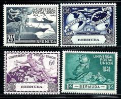"Bermuda       ""UPU""      Set     SC# 138-41      Mint - Bermudas"