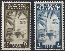 TRIPOLITANIA - 1938 - Serie Completa Di 2 Valori Nuovi MNH: Yvert 80/81. - Eritrea
