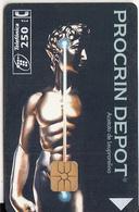 SPAIN - Procrin Depot, Abbott/Urologia, Tirage 6100, 12/95, Used - Spagna