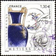 Oblitération Cachet à Date Sur Timbre De France N° 5264 - Métier D'art, Céramiste - France