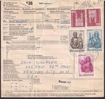 Helvetia - 1967 - Begleitadresse - Briefe U. Dokumente