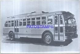 124694 AUTOMOBILE OLD CAR AUTOBUS COLECTIVO BUS 18 X 12 CM PHOTO NO POSTAL POSTCARD - Ansichtskarten