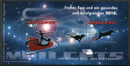 CAT Germany 2009 MAILCATS Private Local Post Xmas M/s Catwoman & Cats Katze Chat Kat Gato Gatto Privatpost Poste Privée - Domestic Cats