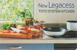 Télécarte Japon / 110-016 - Cuisine Italie - Poivron Huile D'olive - FOOD Cooking ITALY Rel. Japan Phonecard - 240 - Reclame