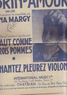 Partition Ancienne Brin D'amour - Haut Comme Trois Pommes - Lina Margy - Liederbücher