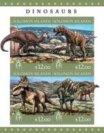 Solomon Islands 2016  Dinosaurs - Solomon Islands (1978-...)